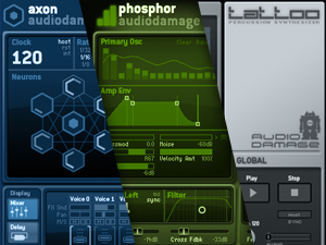 Win 3 Synth Plugins from Audio Damage