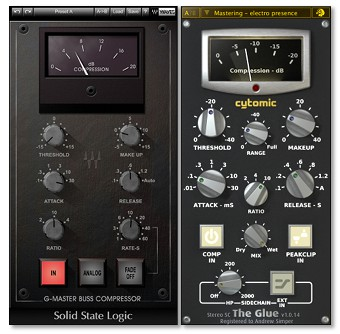 Plugin Shootout - Waves SSL Comp vs  Cytomic's The Glue