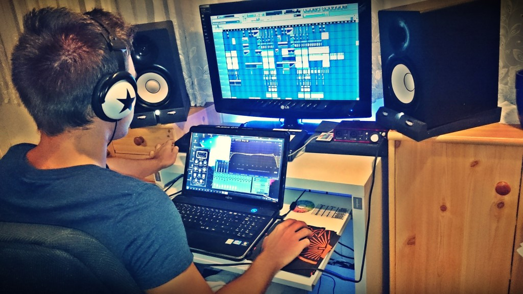 Producing mit Farbe