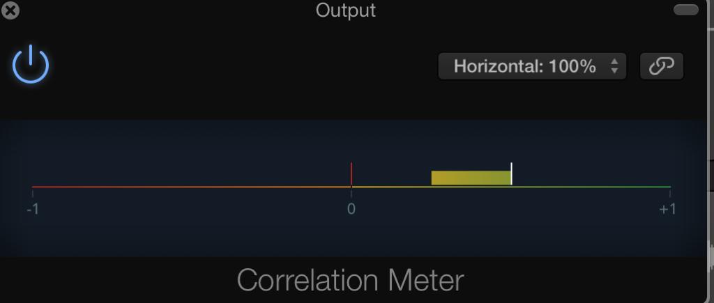 correlation meter