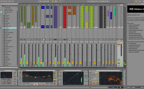 ableton live mix