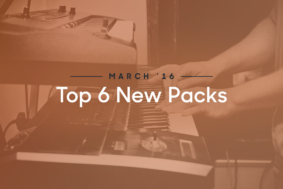 Top 6 New Sample Packs From March - Blog | Splice