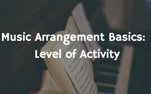 level of activity