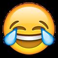 laughing face emoji serum