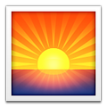 sunset emoji serum