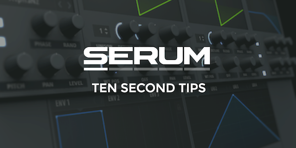 Serum Synthwave Tutorial