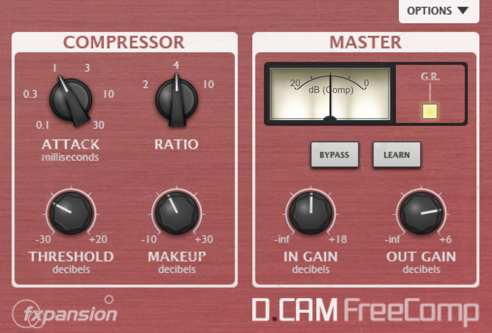 best-free-compressor-dcam-vst
