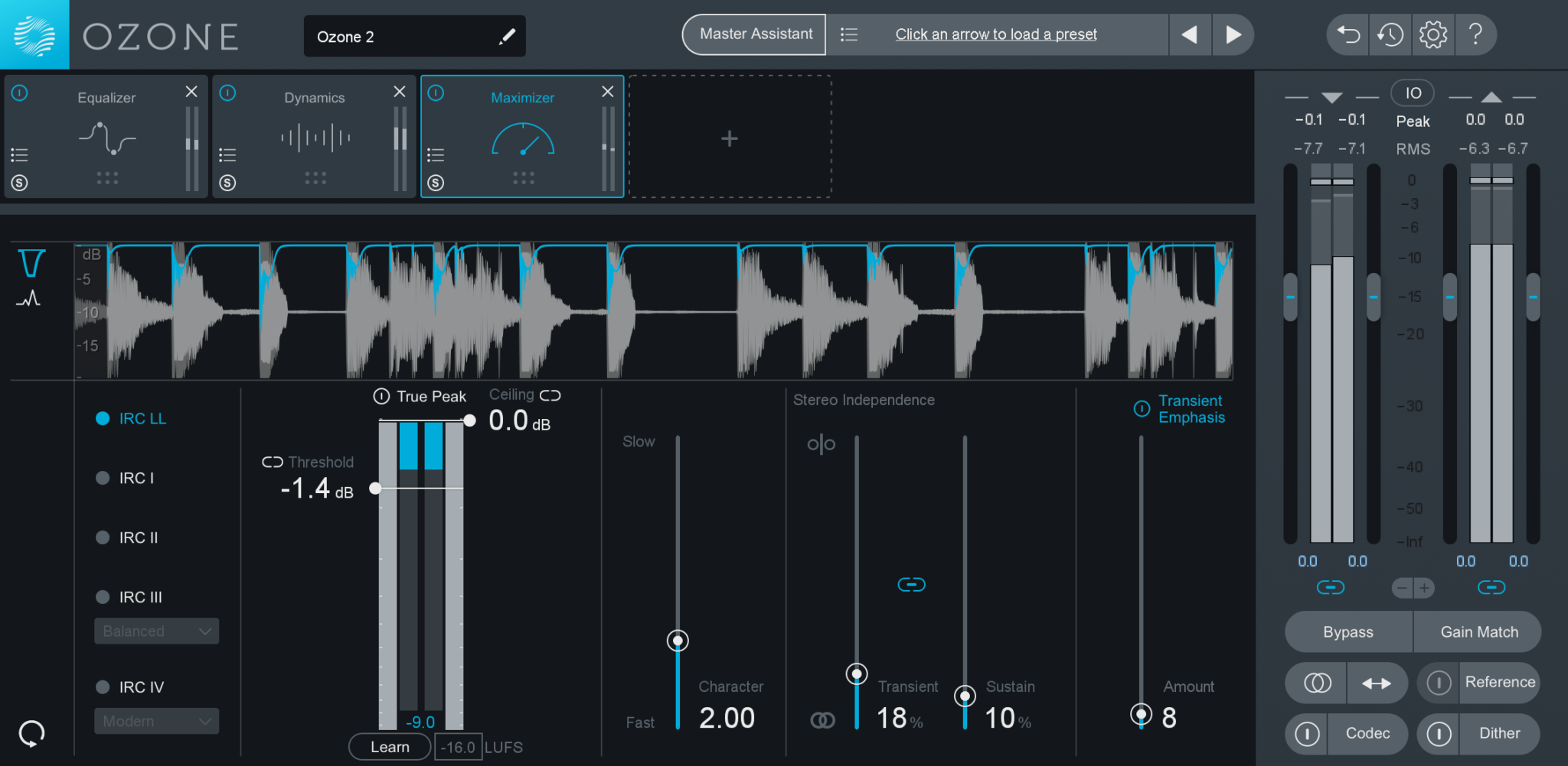 Mastering with Ozone 8: Limiting - Blog | Splice