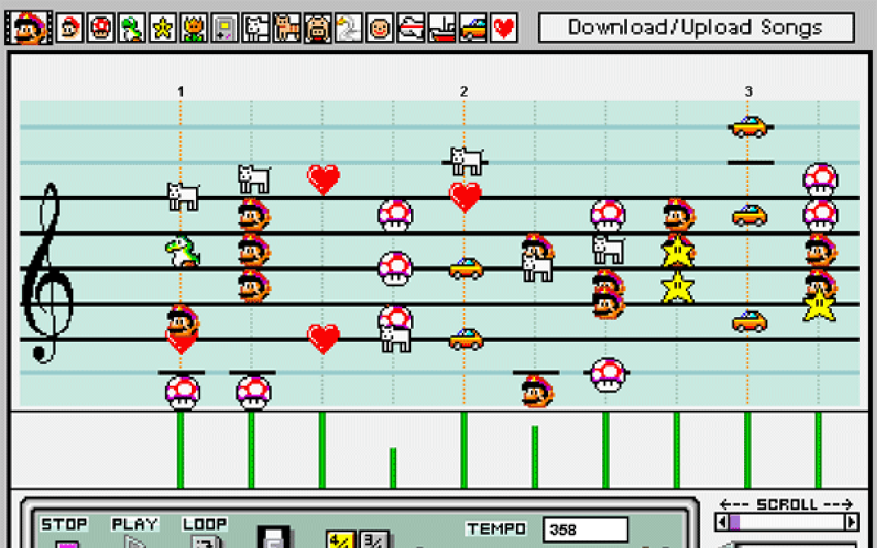 Let's walk through the bassline in Super Mario Odyssey's