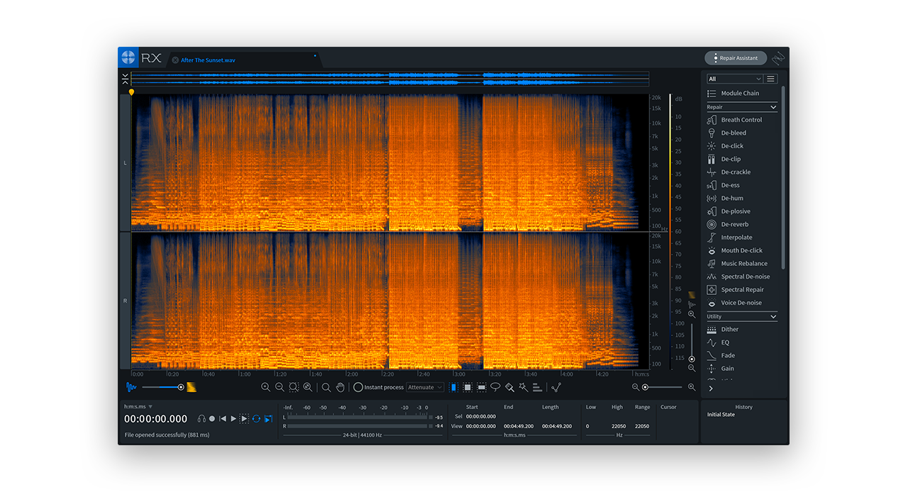 How to use iZotope's RX 7 Standard - Blog | Splice