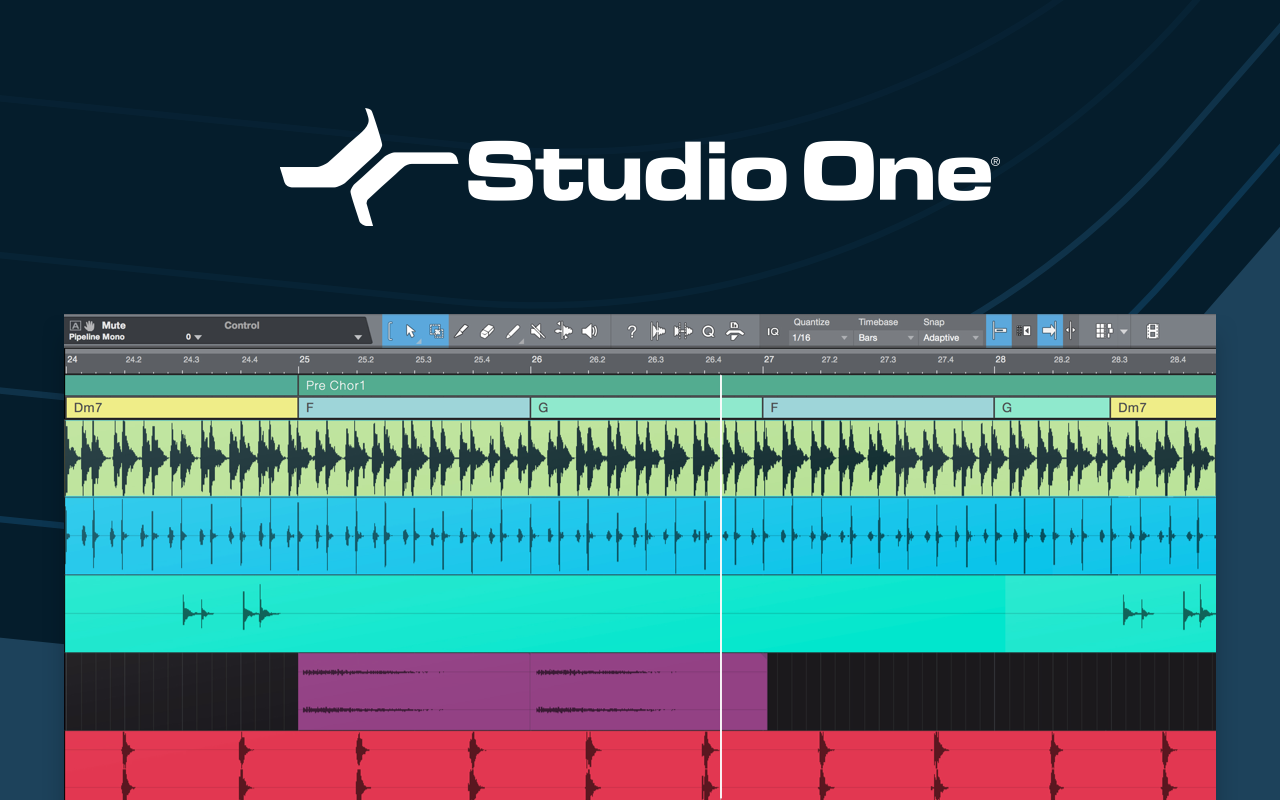 A comprehensive feature list of PreSonus' Studio One 4 5