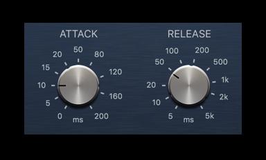 compressor-attack-release