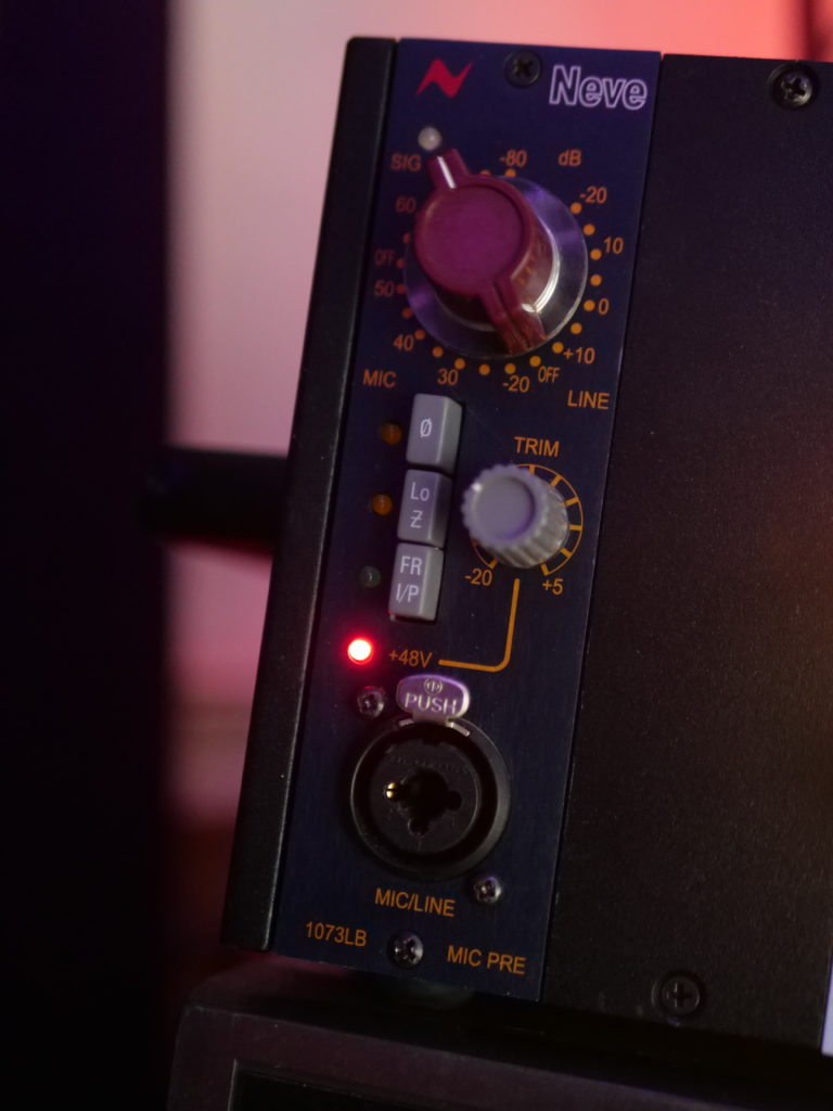 The AMS Neve 1073LB preamp (3-tips-recording-live-instruments-in-post-04)